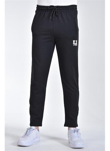Rodi Jeans Erkek Ex Baskılı Düz Paça Eşofman Altı Ty21Ye090194 Siyah